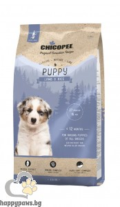 Chicopee - Classic Nature - Puppy с агне и ориз