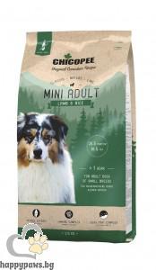 Chicopee - Classic Nature - Adult Mini суха храна за дребни породи кучета с агне и ориз, 15 кг