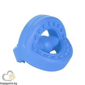 TRIXIE - Апорт гумен, подходящ за водене на обучение и дресировка, 7 см.