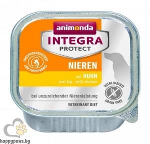Integra - Protect Renal профилактична храна БЕЗ ЗЪРНО за котки с ограничена функция на бъбреците, 100 гр. различни вкусове