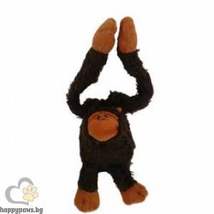 N.MOL B.V. - Маймунка плюшена, предназначена специално за чувствителни кучета, 43 см.