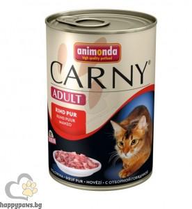 Carny - Adult - 100% консервирано прясно месо за израснали котки, 800 гр. различни вкусове