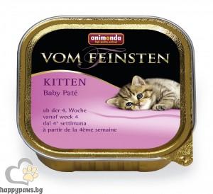Von Feinsten - Baby фин пастет за котета след 4 седмична възраст, 100 гр.