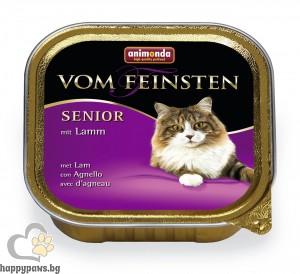 Von Feinsten - Senior за котки над 7 години, 100 гр. различни вкусове