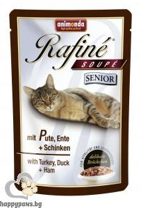Rafinе - Soupe Senior пауч с различни вкусове за котки над 7 г., 100 гр.