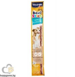 Vitakraft - Beef Stick Hypoallergenic лакомства за кучета хипоалергенна саламена пръчица