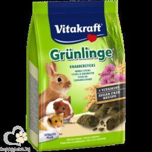 Vitakraft McGreen Гризини за зайци и гризачи с люцерна, 50 гр.