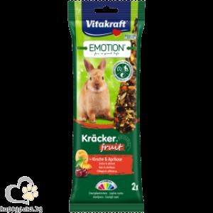 Vitakraft - Emotion Herbal Крекер за мини зайчета с различни вкусове, 2 бр.
