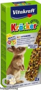 Vitakraft - Крекер за мини зайчета различни вкусове, 2 бр.