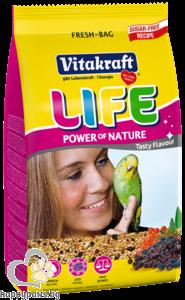 Vitakraft - Menu Life Power Храна за вълнисти папагали, 800 гр