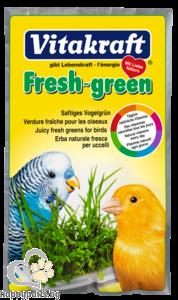 Vitakraft - FRESH GREEN сочна зеленина за птици, 40 гр.