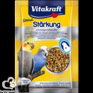 Vitakraft - Perlen витаминозни перли за папагали за укрепване с биотин, 30 гр.