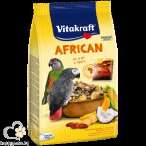 Vitakraft - African Основна ежедневна храна за големи папагали 750 гр