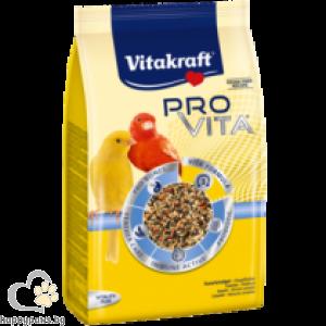 Vitakraft - PRO VITA® Пълноценна храна за канарчета, 800 гр