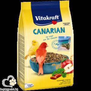 Vitakraft - CANARIAN Пълноценна храна за канарчета, 800 гр