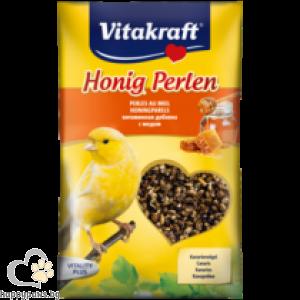 Vitakraft - Perlen Витаминозни перли с мед за птици канарчета, 20 гр.