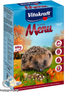 Vitakraft - Пълноценна храна за таралежи, 600 гр.