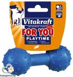 Vitakraft - For You Играчки за кучета гира със звънче от естествена гума