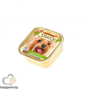 Stuzzy - Mister Dog pate пастет за кучета над 12 месеца, 150 гр. различни вкусове