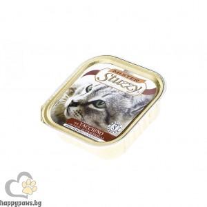 Stuzzy - Mister Cat pate пастет за котета над 12 месеца, 100 гр. различни вкусове