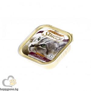 Stuzzy - Mister Cat Chicken Neutered Cat пастет от пилешко месо, за кастрирани котки, 100 гр.