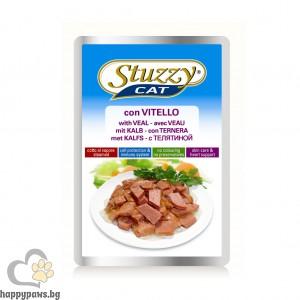 Stuzzy - Cat висококачествен пауч за котета над 12 месеца, различни вкусове, 100 гр.