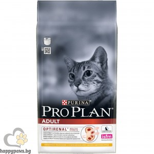 PURINA PRO PLAN - Cat Adult суха храна за котки над 1 година, различни вкусове, 10 кг.