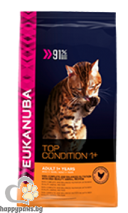 Eukanuba - ADULT TOP CONDITION за котета на възраст над 12 месеца, 4кг.