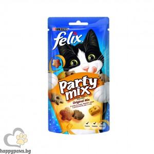 Felix - Party деликатесно лакомство за котки, различни вкусове, 60 гр.