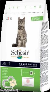 Schesir - DRY LINE суха храна за котета над 12 месеца, различни вкусове, 400 гр.