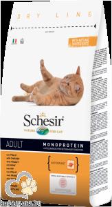 Schesir - DRY LINE суха храна за котета над 12 месеца, 10 кг. различни вкусове