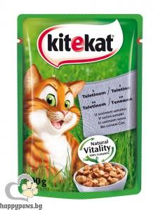 Kitekat - Pouch пауч за котета над 12 месеца, 100 гр. различни вкусове