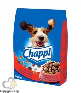 Chappi - суха храна за кучета над 12 месеца, 500 гр.различни вкусове