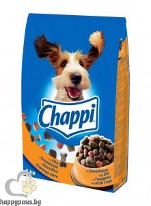 Chappi - суха храна за кучета над 12 месеца, 3 кг. различни вкусове