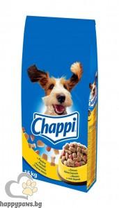 Chappi - суха храна за кучета над 12 месеца, различни вкусове, 15 кг.