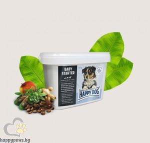 Happy Dog - Baby Starter суха, пълноценна храна за отбиване на кученца, след 21- вия ден, 4 кг.