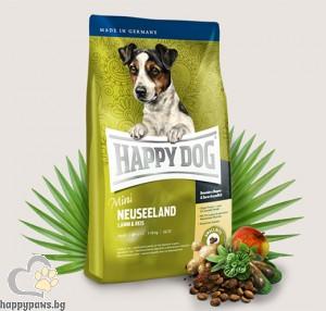 Happy Dog - Supreme Mini Neuseeland суха храна за кучета над 12 месеца, за мини и малки породи до 10 кг., с агнешко, 1 кг.