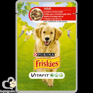 PURINA - FRISKIES пауч за кучета в зряла възраст, 100 гр. различни вкусове