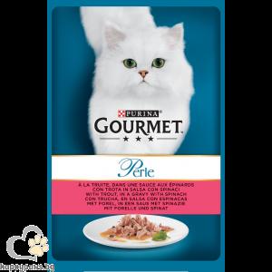 GOURMET - Perle пауч за котки в зряла възраст, различни вкусове, 85 гр.
