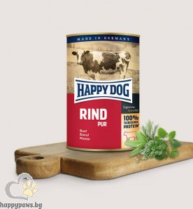 Happy Dog - Pur консервирана храна за кучета над 12 месеца, 800 гр. различни вкусове