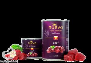 Nuevo - Cat Adult консервирана храна за котета над 12 месеца, различни вкусове, 400 гр.
