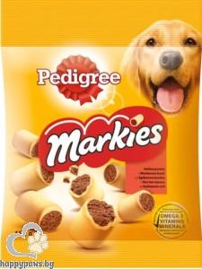 Pedigree - Markies кучешки бисквитки с пълнеж, 150 гр.