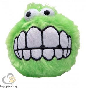 Rogz - Fluffy Grinz Ball плюшена играчка, различни размери и цветова