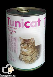 Cat Select - TUNICAT консервирана храна за котки, над 12 месеца, 400 гр. различни вкусове
