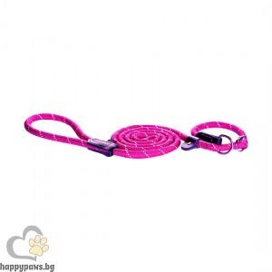 Rogz - Rope Moxon Lead нашийник с душач, различни размери и цветове