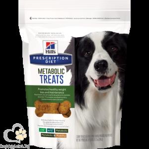 Hills - Prescription Diet Metabolic Treats Canine лакомство при кучета с наднормено тегло, 220 гр.