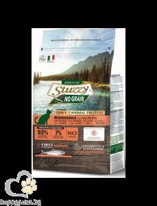 Stuzzy - Monoprotein Grain Free Adult суха, пълноценна храна за котки над 12 месечна възраст, различни вкусове, 400 гр.