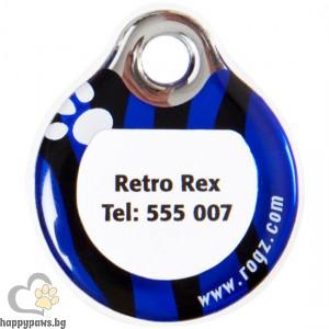 Rogz - ID Tag адресник, различни размери и цветове