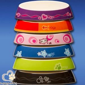 Rogz - Bowls купичка за котета, за храна или вода, различни цветове 200 мл.