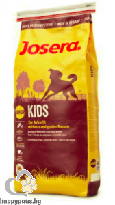 Josera - Kids Gluten Free суха храна за кученца до 1 година със пилешко, 900 гр.